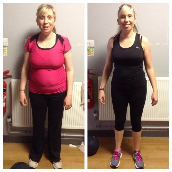 Amy FInn Transformation with Louis Nixon Personal Training